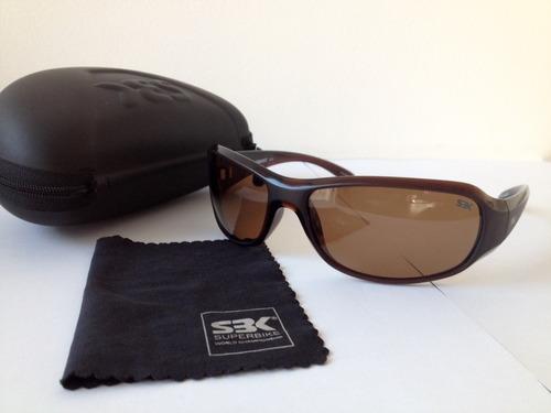 lentes de sol superbike sbk, polarizados, con estuche y paño