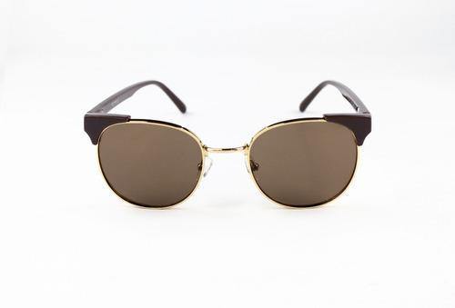 lentes de sol synergy marrón lfl370