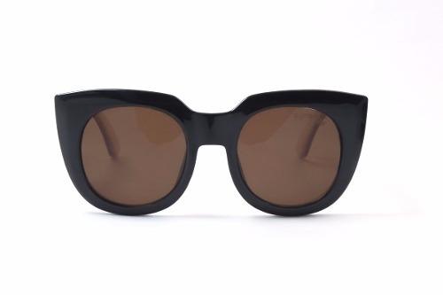 lentes de sol synergy negro/marron xl-001