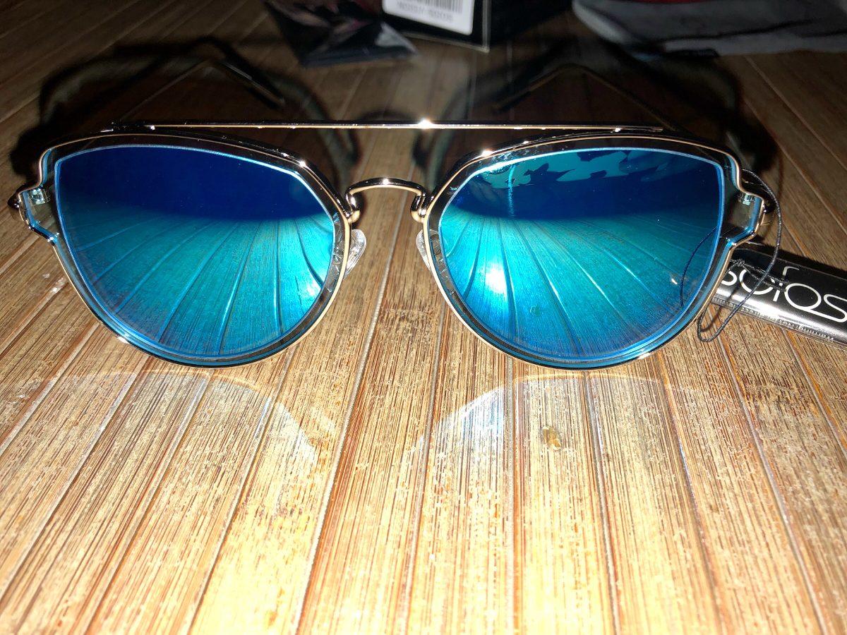 b07855a8c6 Lentes De Sol Tipo Espejo Azules Sojos - $ 550.00 en Mercado Libre