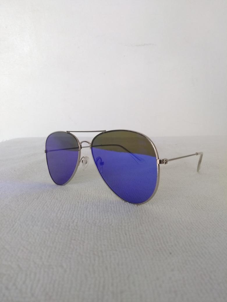 c41fd365bb Lentes De Sol Tipo Espejo Unisex Color Azul - Bs. 15.000,00 en ...