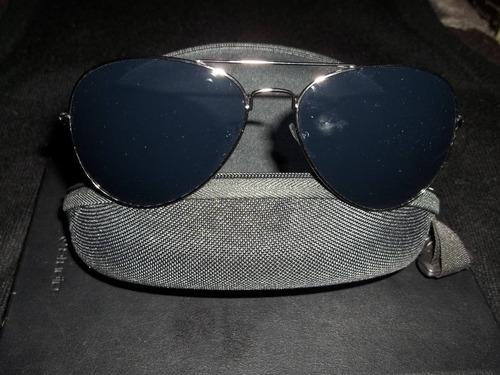 lentes de sol  unisex con protección uv nuevos con estuche