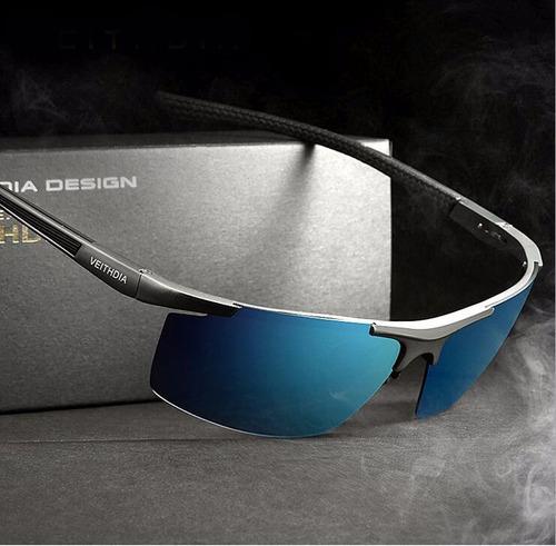 lentes de sol veithdia aluminio polarizado hombre hd