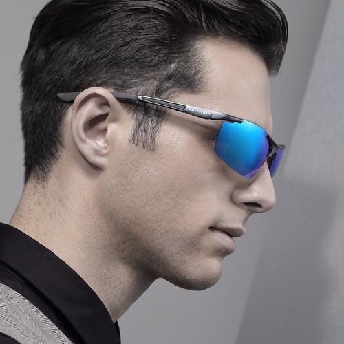 lentes de sol veithdia aluminio polarizado original en caja