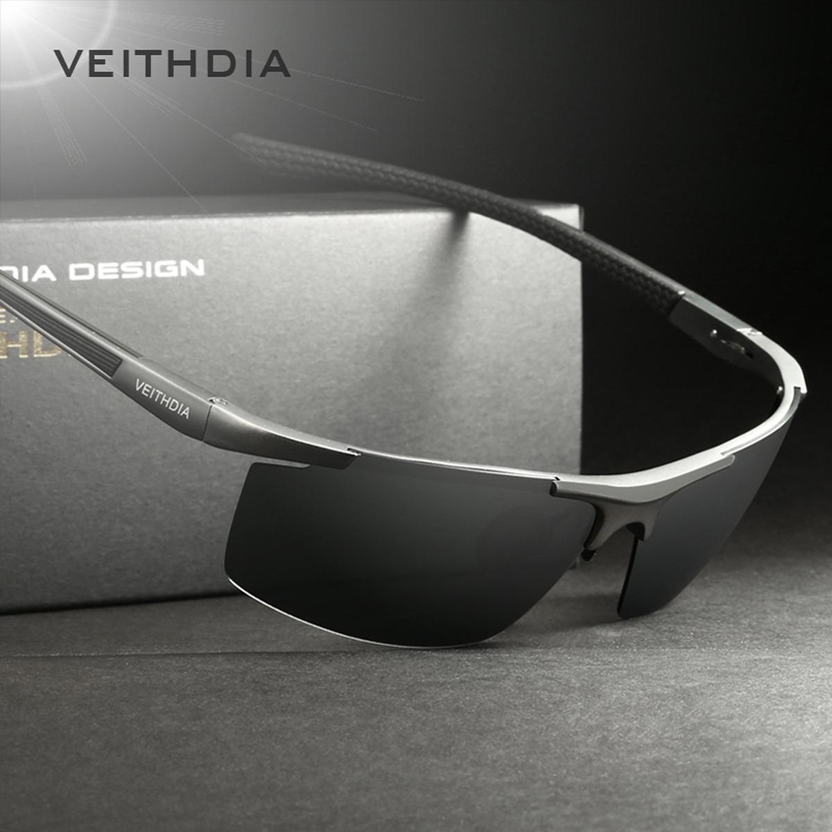 8d151378ed lentes de sol veithdia v6588 estilo deportivo polarizados uv. 9 Fotos