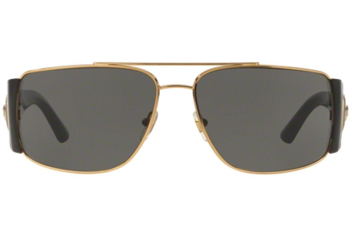 d48e5e6c01 lentes de sol versace ve2163 100287 negro/oro para hombre. Cargando zoom.