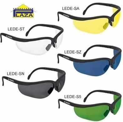 lentes deportivos de seguridad truper 100% policarbonato