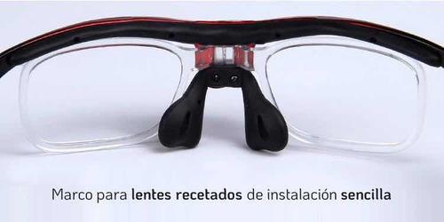 lentes deportivos intercambiables,