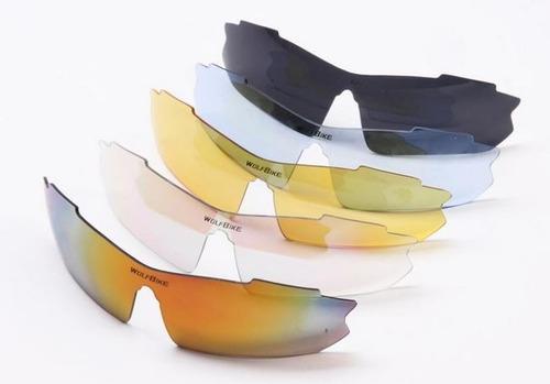 lentes deportivos wolfbike wolf bike polarized graduables