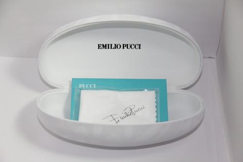 lentes emilio pucci para dama modelo ep 128s 015 gunmetal