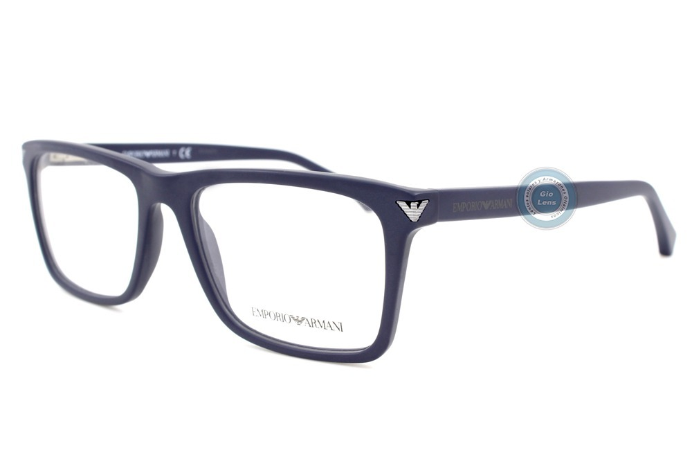 e39587a5e92 lentes emporio armani 3071 5452 matte blue oftalmico nuevo. Cargando zoom.