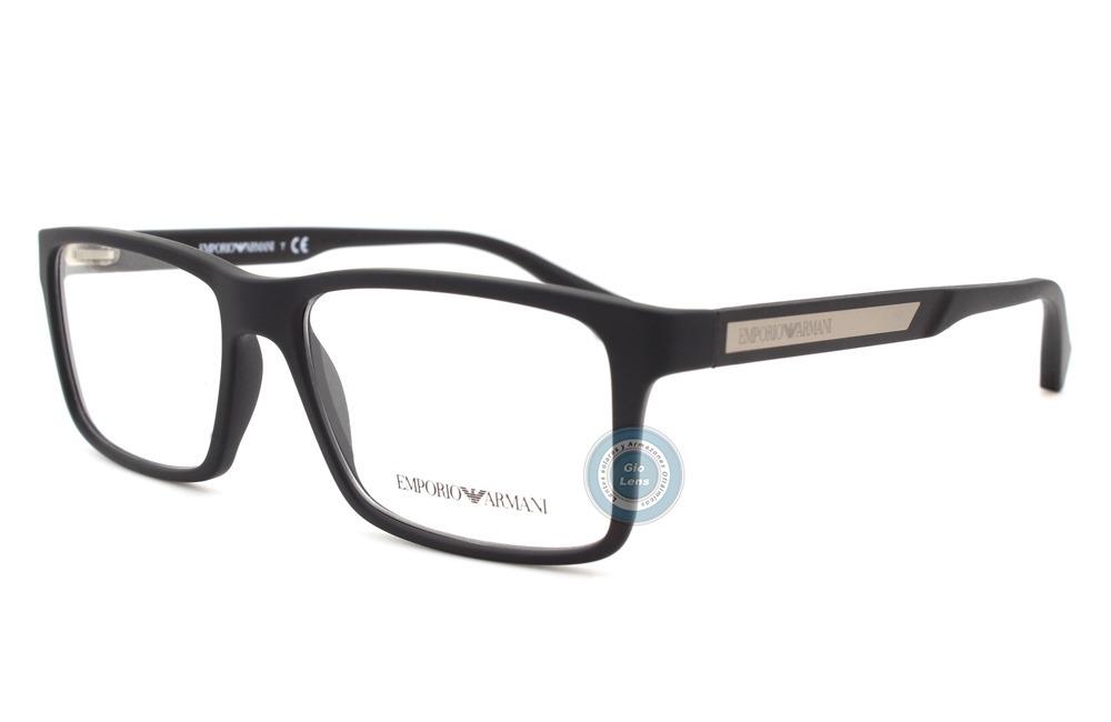 640c872f5ae lentes emporio armani oftalmico 3038 5063 black rubber nuevo. Cargando zoom.