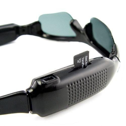 lentes espia filtro uv hd 8gb usb dvr spy  digital mini
