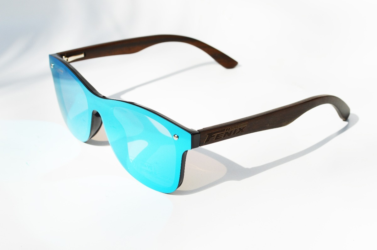 043cd44985 Lentes Fenix Sol Bamboo Flat Espejo Azul Polarizado Uv400 - $ 890.00 ...
