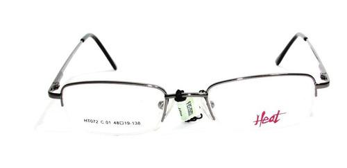 lentes gafas anteojo de receta  heat ht 072 óptica mgi