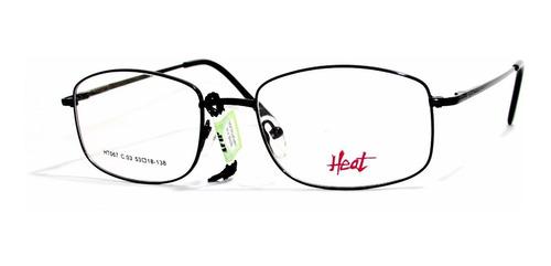 lentes gafas anteojos receta heat ht 067 óptica mgi
