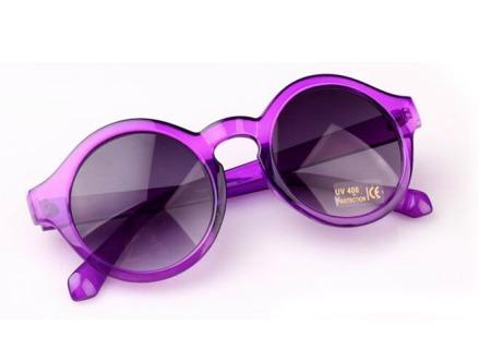 lentes gafas anteojos redondos ultima temporada! violetas