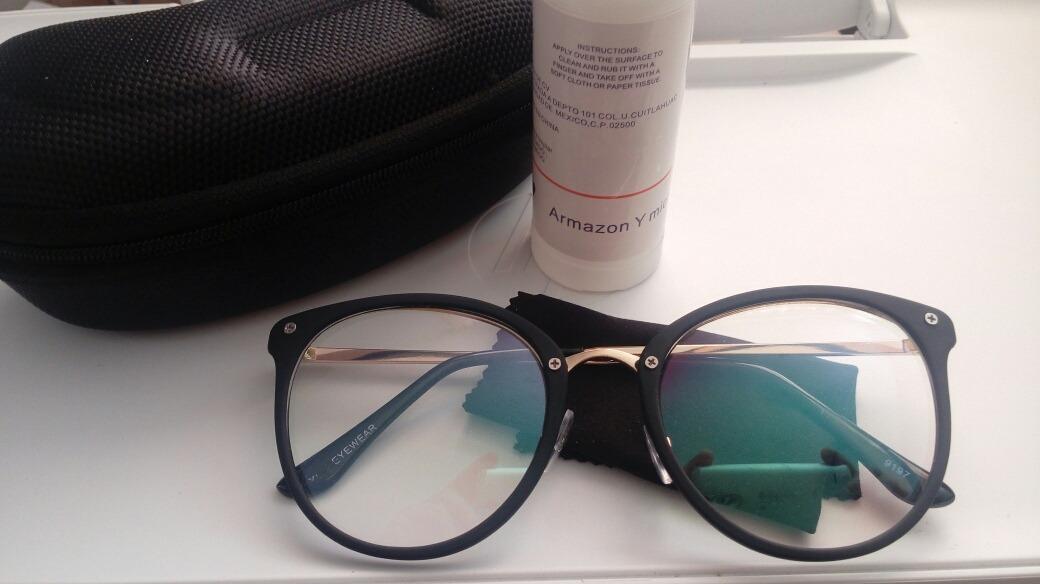 cd0fcccacb lentes gafas armazon computadora antifatica antireflejante. Cargando zoom.