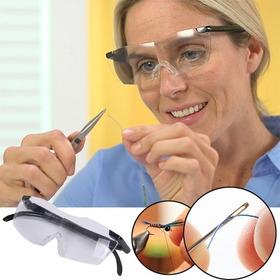 Lentes Gafas Aumento 160% Lupa Estilo Big Vision Envio Grati