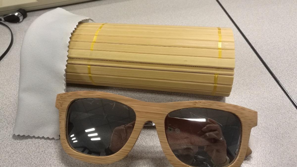 Lentes Gafas Bamboo Bambu Premium Original Estuche Rigido - $ 649.00 ...