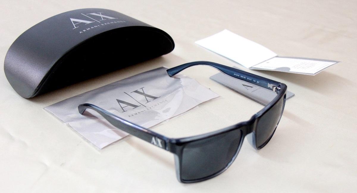 1ad5233593 lentes gafas de sol armani exchange ax4016 100% auténticos. Cargando zoom.