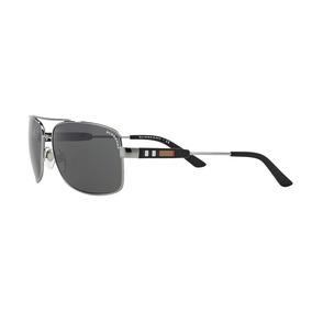 20bf788fee Lentes Gafas De Sol Burberry Be3074 Auténticos Marco Metal