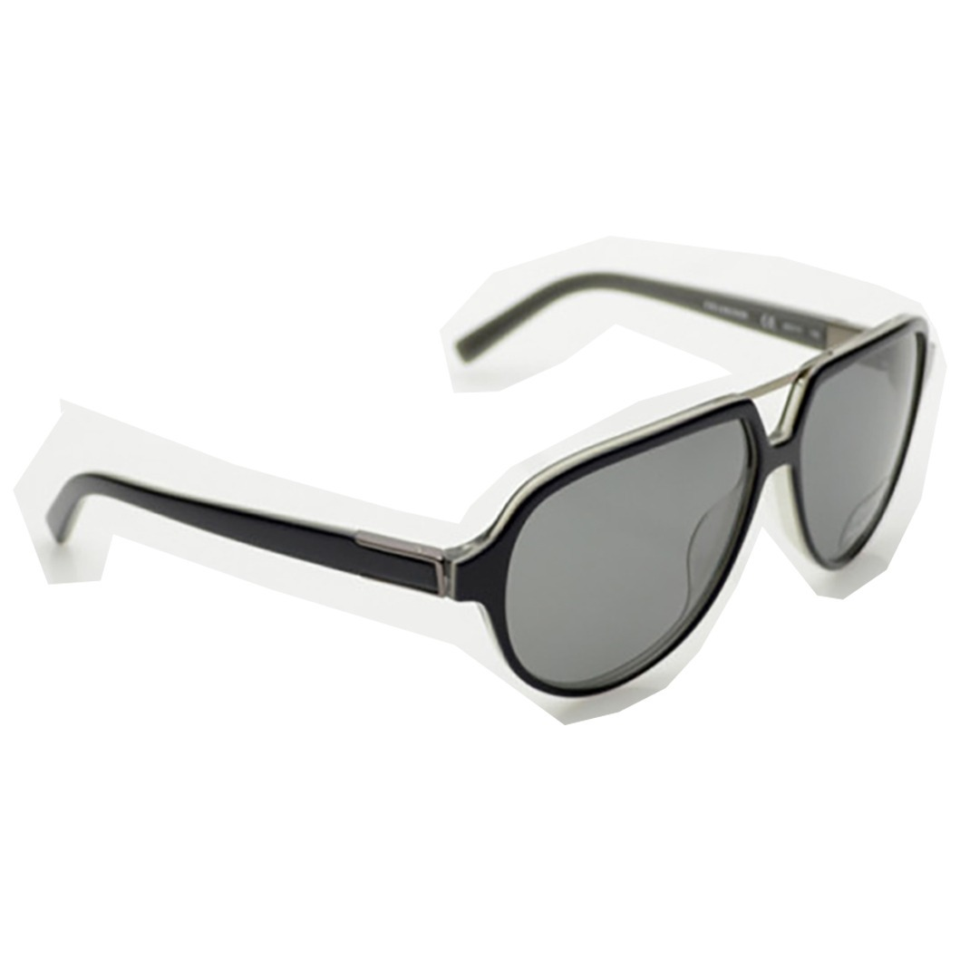 c5b42896b1 lentes gafas de sol calvin klein piloto negro polarizados. Cargando zoom.