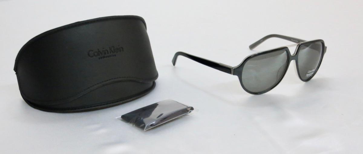 3e48091bb3 lentes gafas de sol calvin klein piloto negro polarizados. Cargando zoom.