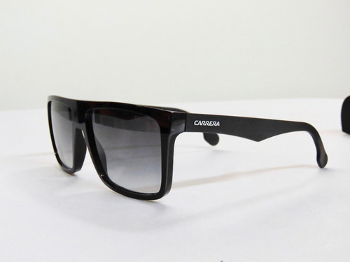lentes gafas de sol carrera 5039/s shiny black square made in slovenia
