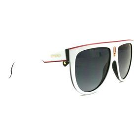 d190a588c4 Lentes Gafas De Sol Carrera Ccp90 Flagtop Blanco Con Negro