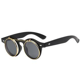 0a219e841f Lentes Gafas De Sol De Mujer Flip Up Retro Círculo Mayoreo