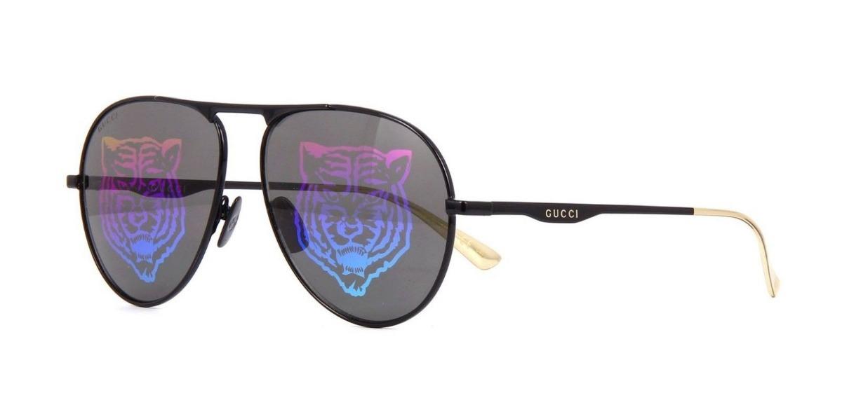 5c25cceb9d8 Lentes Gafas De Sol Gucci Gg0334s Tiger Lens Made In Japan ...