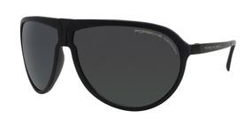 7f7ebc2a5f Lentes Gafas De Sol Porsche Design P86bf V Black 64mm Italy