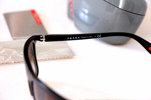 lentes gafas de sol prada sport ps51ps netex made in italy