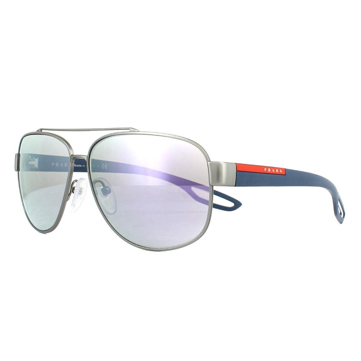 e42a9fabdd lentes gafas de sol prada sport ps58qs caucho made in italy. Cargando zoom.