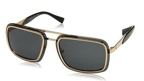 1d6411ed0d Lentes Gafas De Sol Versace Ve2183 Pale Gold Premium Italy