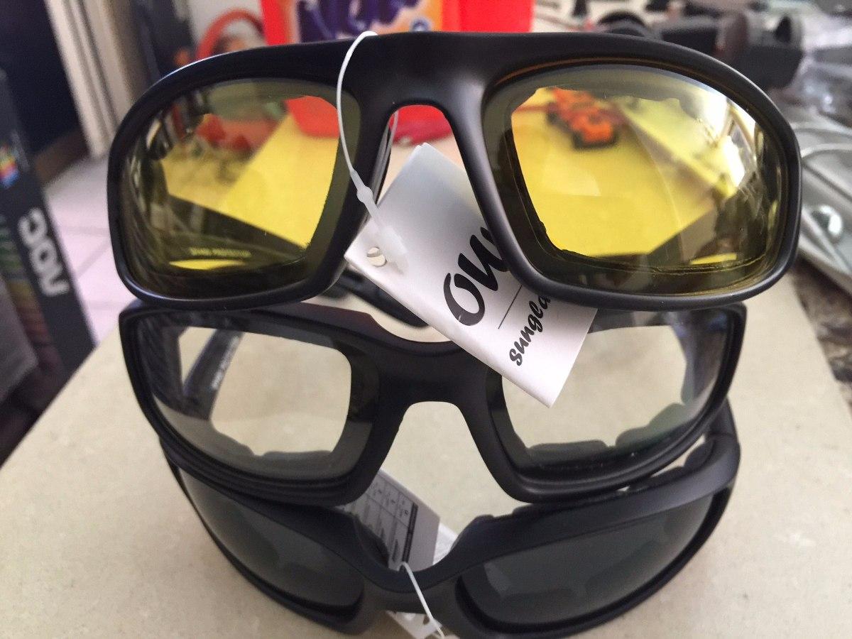 Lentes Gafas Para Motociclista Vision Nocturna, Oscuros Y ...