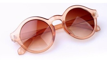 lentes gafas redondos leopardo importados de usa