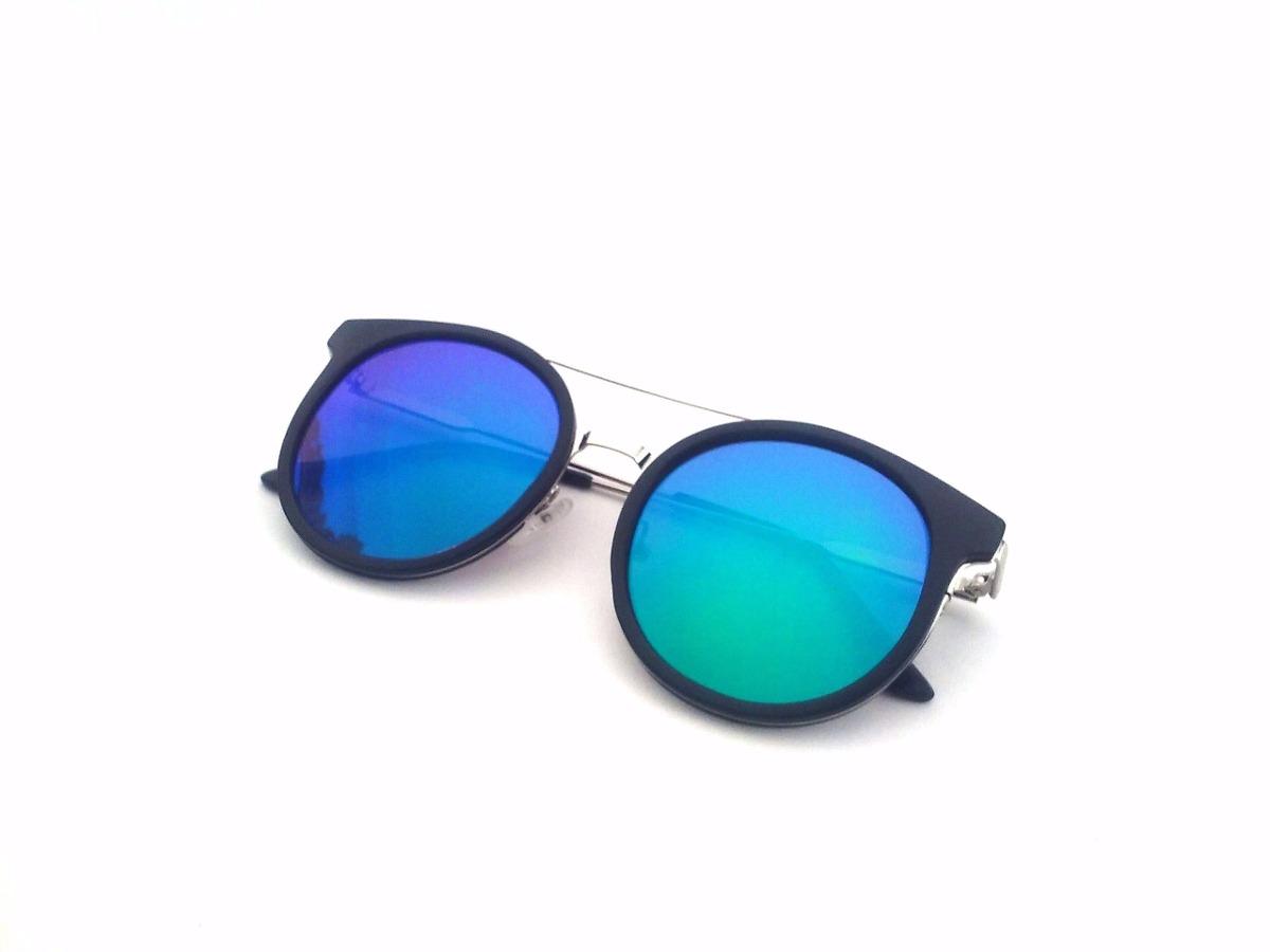 b55e743950 Lentes Gafas Sol Espejado Azul Uv400 + Estuche Mujer - $ 700,00 en ...