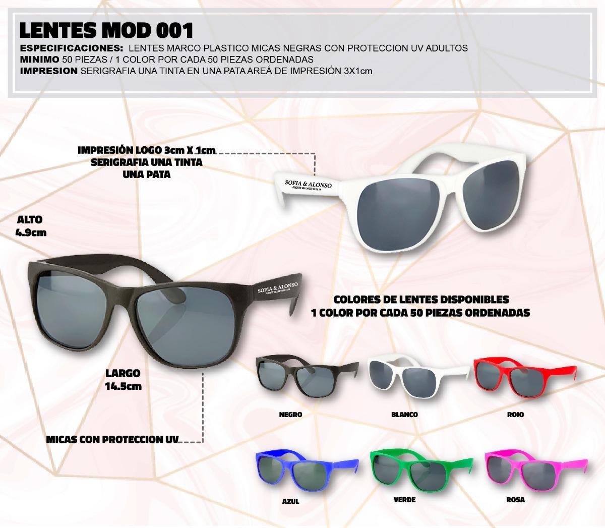 8494de2c18 lentes gafas sol personalizados boda eventos quinceañera. Cargando zoom.