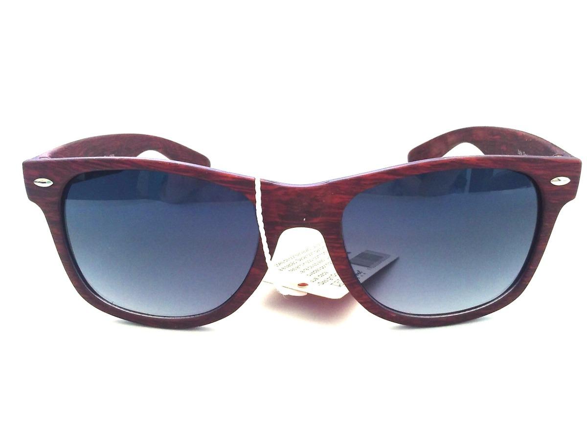 d050e06be3 lentes gafas sol simil madera wayfarer hombre mujer +estuche. Cargando zoom.