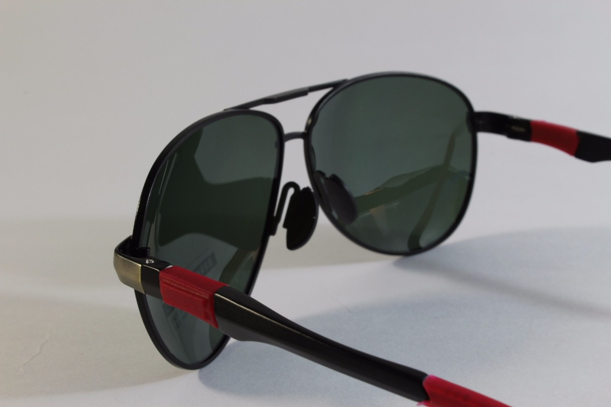 afc5b958c1 lentes gafas solares aviador polarizados negros para hombre. Cargando zoom.