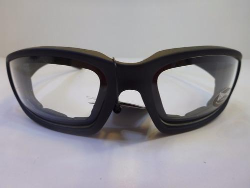 lentes goggle para manejar de noche mica transparente
