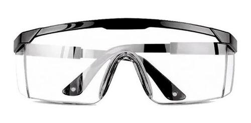 lentes goggles negros de seguridad antiempañante uso rudo