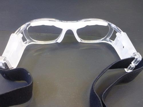 lentes graduables miopia goggle para niña color transparente