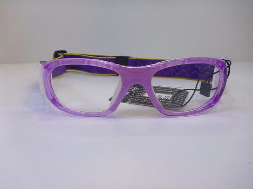 lentes graduables miopia goggles para niña  color barney