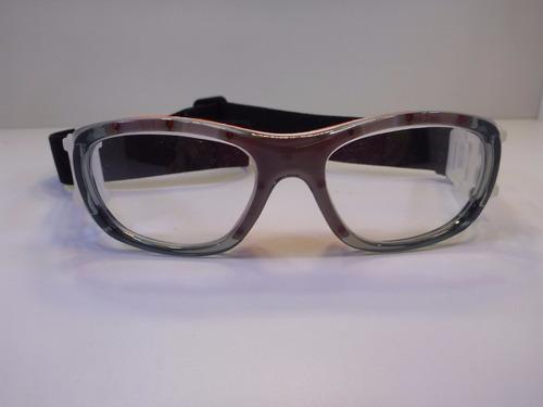 lentes graduables miopia goggles para niños gris con naranja