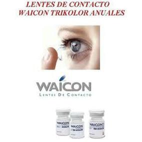c604b3c33fb51 Lentes De Contacto Waicon Tricolor 2 Años - Lentes sin Graduación en  Mercado Libre Argentina