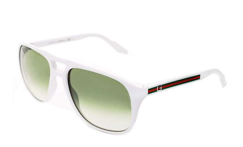 c01eaf25f2 Lentes Gucci Gg 1018 s Vk6 57nc 57 Crystal Green -   2