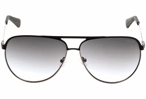 lentes guess caballero negro original gu 6841 02b